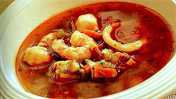 Рыбий суп рецепт